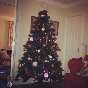My pretty Christmas tree this year <3