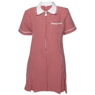 Girls Summer Dress Gingham Check-600x600